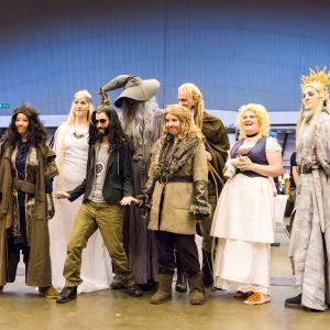 Tolkienin kirjojen innoittamia cosplay-hahmoja, 8 kpl.