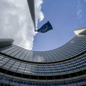 IAEA:s huvudkvarter i Wien, Österrike.