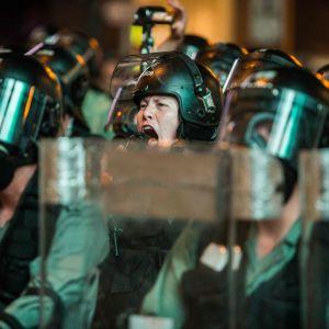 Oroligheter i Hongkong 3.8.2019.