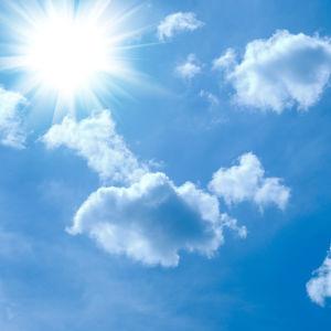 Sol och moln