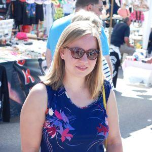 Lina Teir på Tomatkarnevalen