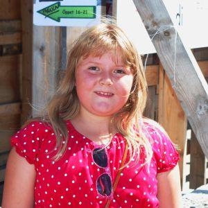 Emilia Räfså på Tomatkarnevalen