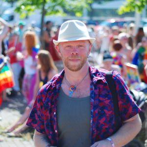 Roine Bertelson på Åland Pride