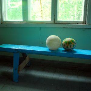 Kvarglömda gympabollar