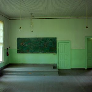 Stora klassrummet i Nars skola