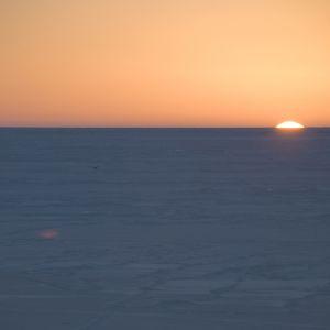 Solen går upp.