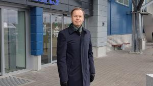 Mika Peltonen, vd för Södra Karelens handelskammare.