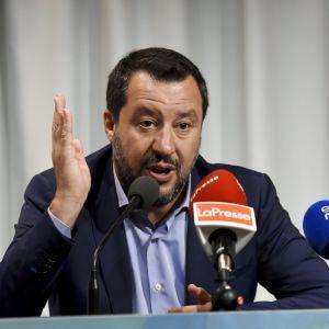Italiens inrikesminister Matteo Salvini meddelade i går att regeringssamarbetet är över.