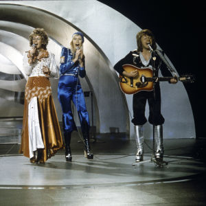 Abba Eurovison laulukilpailun karsinnoissa Ruotsissa 1974.
