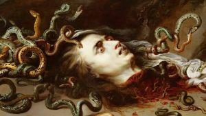 Peter Paul Rubens: Haupt der Medusa (1617/1618)