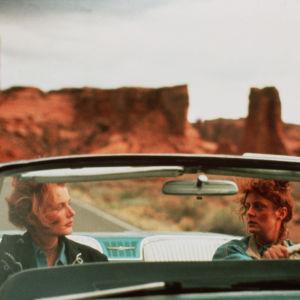 Geena Davis och Susan Sarandon i filmen Thelma & Louise 1991.