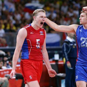 Ryssland vann OS-guld i volleyboll.