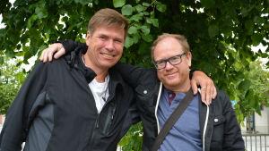 Christian Sundell och Peter Luttge