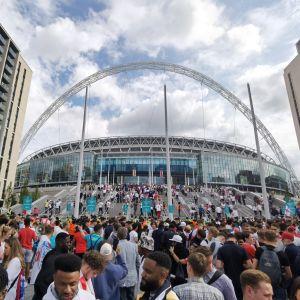 Wembley i London.