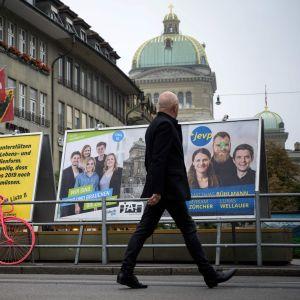 Parlamentsval i Schweiz 20.10.2109