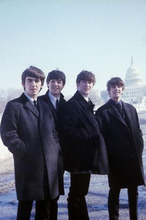 The Beatles Amerikassa. Arkistokuva Ron Howardin ohjaamasta dokumenttielokuvasta The Beatles: Eight Days A Week (2016).