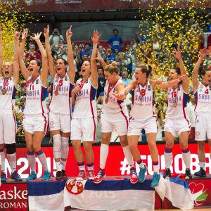 Serbien efter EM-guldet 2015