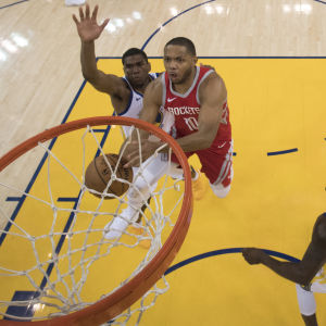 Eric Gordon poängbäst i Rockets (arkivbild).