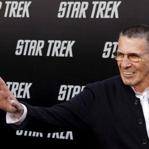 Amerikansak skådespelaren Leonard Nimoy känd från Star Trek