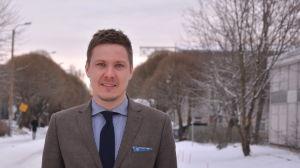 Otto Domars är regionschef för Kårkulla i Österbotten