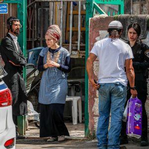 Konflikt i det palestinska området Sheikh Jarrah i Jerusalem