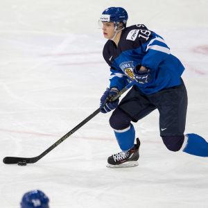 Förväntningarna är höga på Vili Saarijärvi