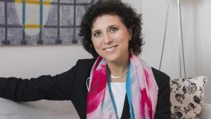 Porträtt på Madeleine Onne.