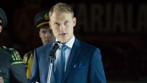 Jussi Markkanen talar