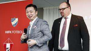 I maj 2019 presenterades kinesen Lucas Jin Chang som ny majoritetsägare i HIFK Fotboll Ab.