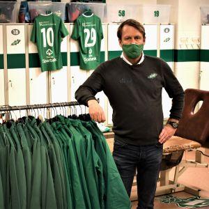 Ekenäs IF:s sportchef Peter Haglund