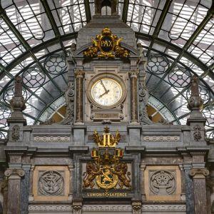 Järnvägsstationen i Antwerpen