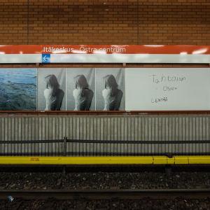 Itäkeskuksen metroasema sisältä