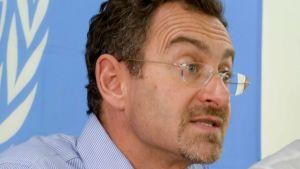 FN:s biståndssamordnare Toby Lanzer.