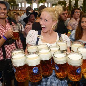 Oktoberfest 2012 i München.