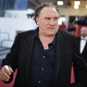 Gérard Depardieu vid Canens filmfestival i maj 2015.