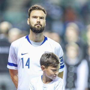 Tim Sparv inför Estland-Finland.
