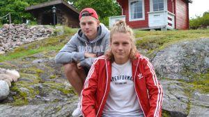 Remi och Kevin Lindholm