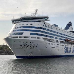 Silja Lines passagerarfartyg Silja Serenade