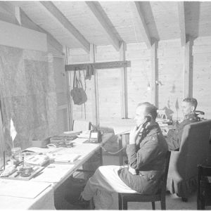 10.3.1940 IIn AKn kenraali Öhquist, eversti Takkuna.