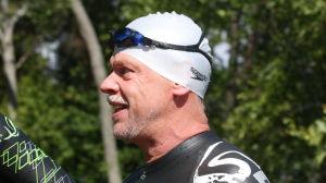 Stig Andersson efter träningspass vid Varppi i Maxmo
