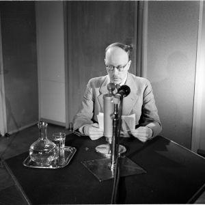 Presidentti Risto Ryti puhuu radiossa 26.6.1941 jatkosodan alettua