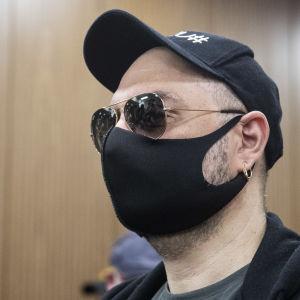 Kirill Serebrennikov i rätten i Moskva den 26 juni 2020, i väntan på domen.
