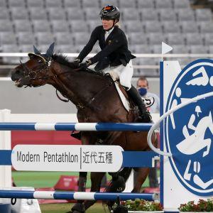 Annika Schleus häst vägrar