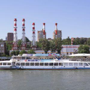 Rostov ligger vid floden Don, nära östra Ukraina där kriget började år 2014