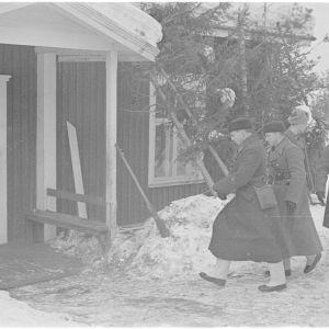 20.3.1940 Möhkö. Ryssät saapuvat neuvottelemaan.