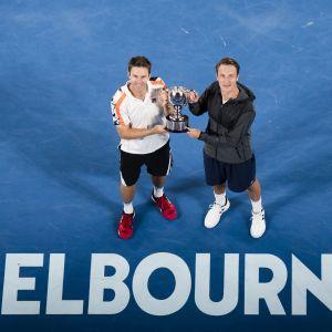 I januari 2017 vann Kontinen och Peers Australian Open.