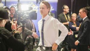 Henrik Borgström, NHL-draften 2016.