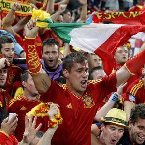 Spanska fans, EURO2012