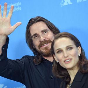 Christian Bale och Natalie Portman på Berlinalen