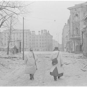Viipuri Punaisenlähteen tori 7.3.1940.